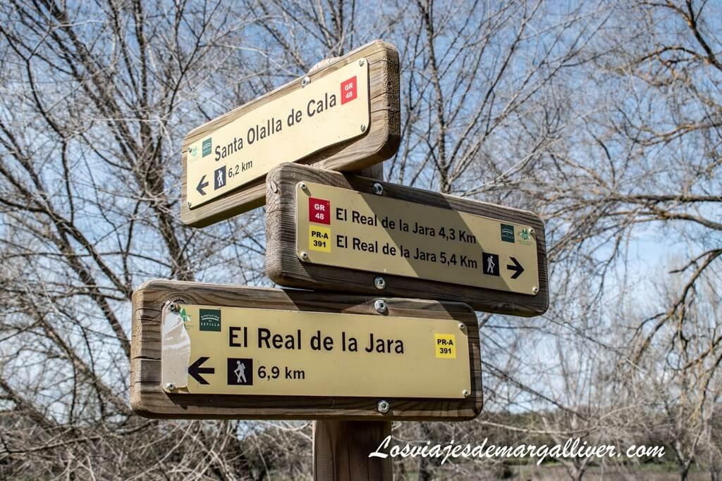 Rutas de Senderismo en El Real de la Jara - Los viajes de Margalliver