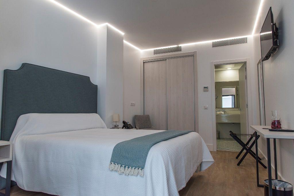 Habitación doble del GM Hotel en Marchena - Los viajes de Margalliver