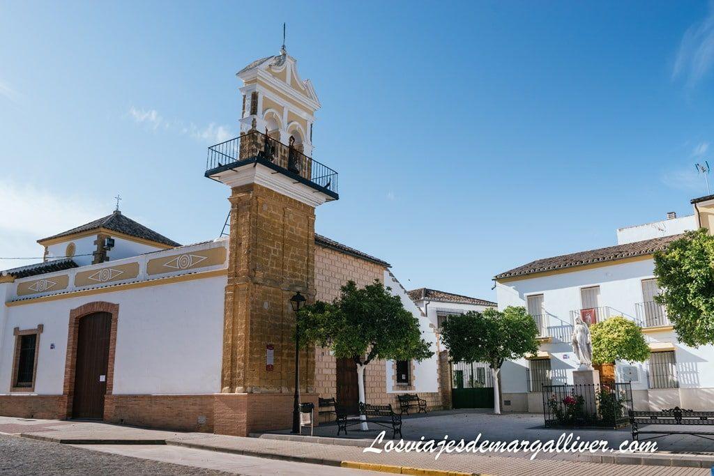 Iglesia de San Bartolomé en Aguadulce- ruta en autocaravana por la Sierra Sur de Sevilla - Los viajes de Margalliver