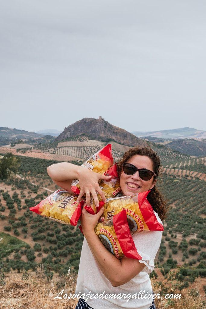 """Margalliver con las Patatas Fritas """"las de Pruna"""" - Los viajes de Margalliver"""