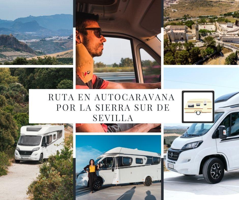 ruta en autocaravana por la sierra sur de Sevilla - Los viajes de Margalliver