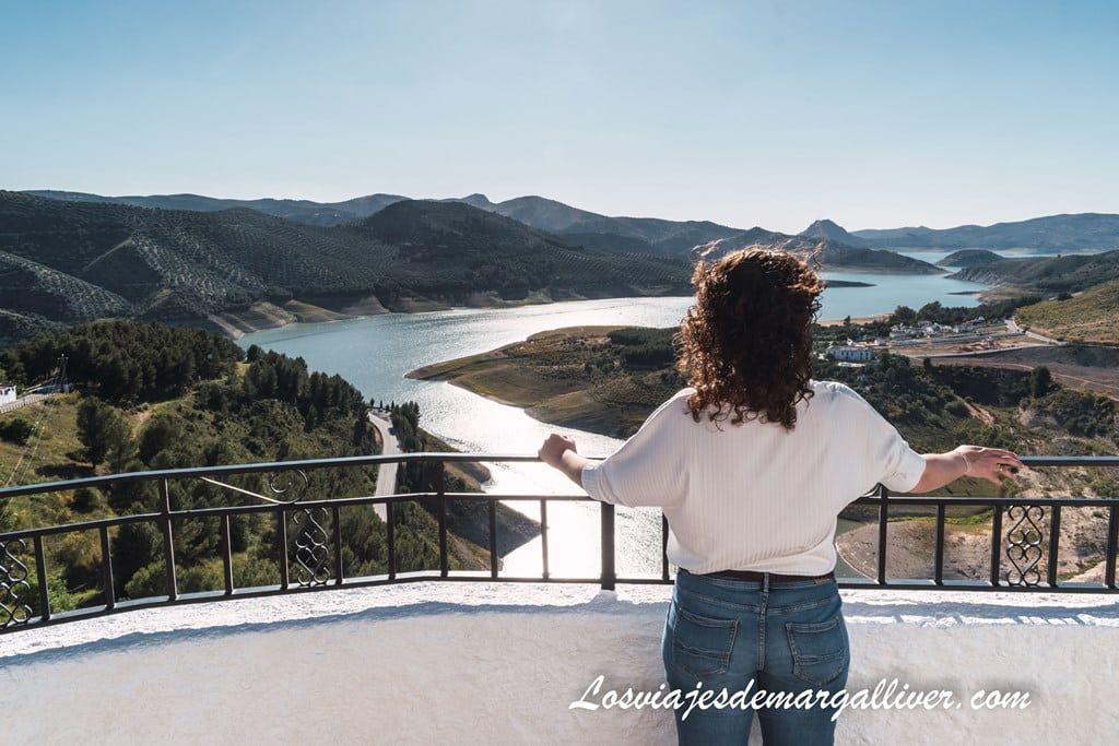 Mirador del embalse en Iznájar - Los viajes de Margalliver