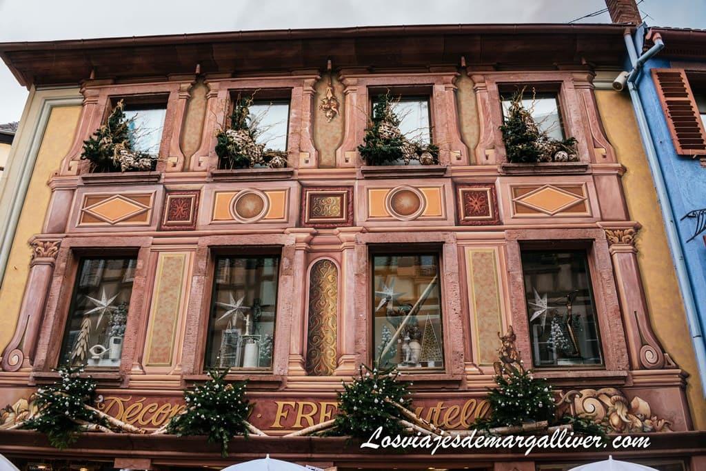 La casa del trampantojo en Ribeauvillé - Los viajes de Margalliver