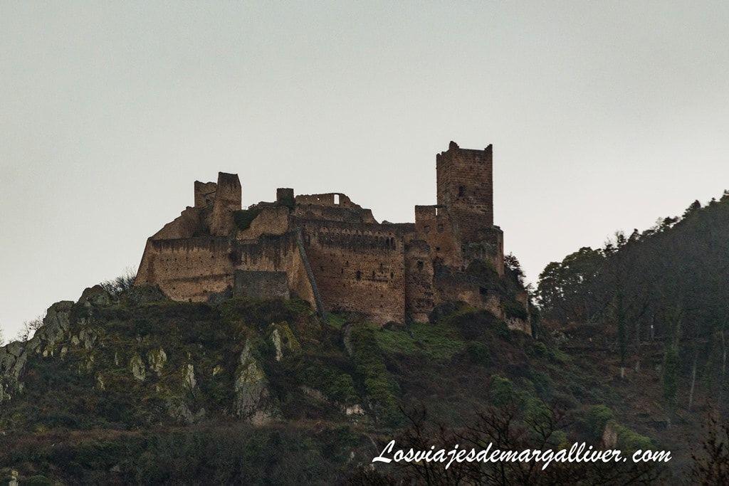 Château de Saint-Ulrich , uno de los castillos de la ruta de los 3 castillos de Ribeauvillé - Los viajes de Margalliver