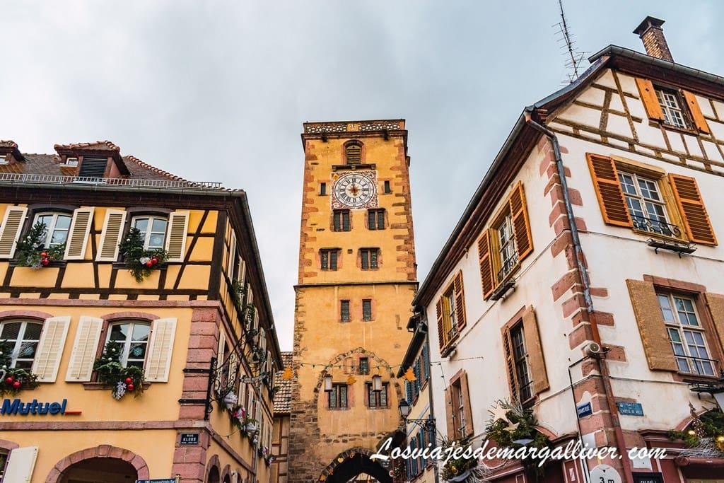 Torre des Bouchers o torre de los carniceros de Ribeauvillé, el monumento más destacado de Ribeauvillé - Los viajes de Margalliver
