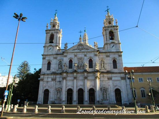 Basílica da Estrela en Lisboa - Los viajes de Margalliver