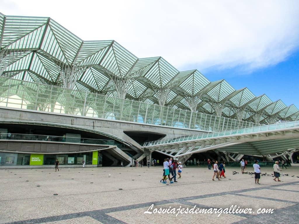 Estación de Metro Oriente, la mejor para llegar la expo 98 de Lisboa - Los viajes de Margalliver