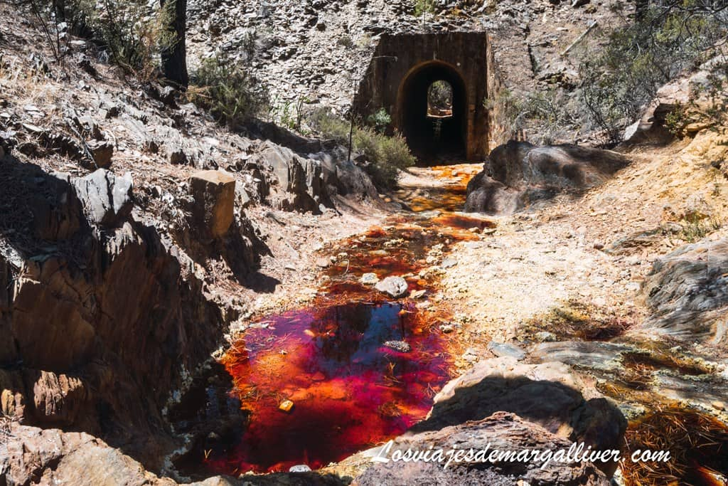 Paisaje de otro planeta el del Río Tinto en la provincia de Huelva - Los viajes de Margalliver