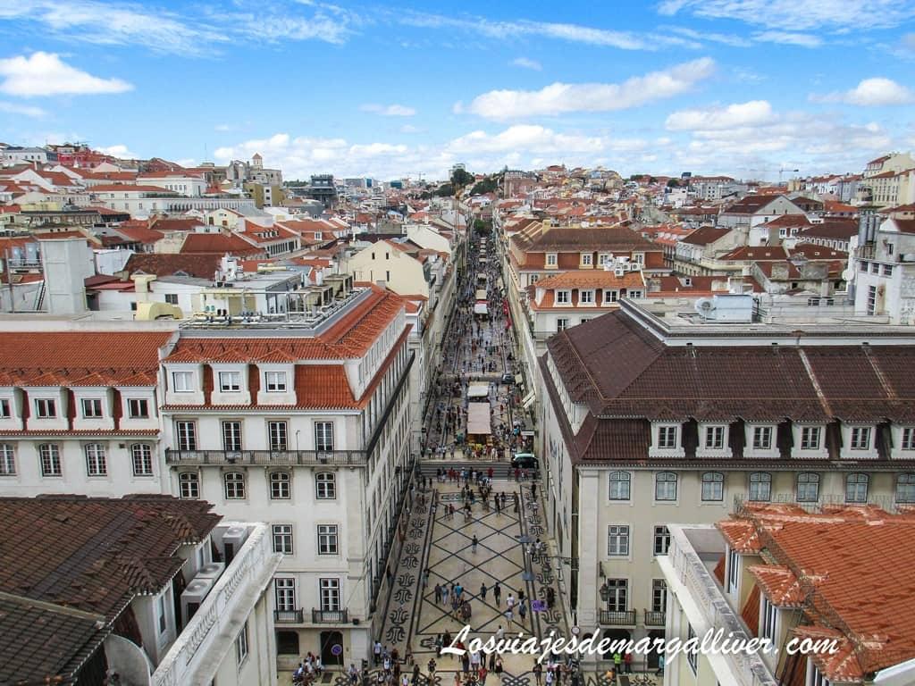 Mirador Arco da Rua Augusta en Lisboa - Los viajes de Margalliver
