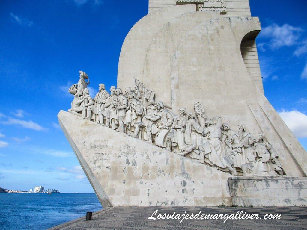 Monumento a los descubrimientos de Lisboa - Los viajes de Margalliver