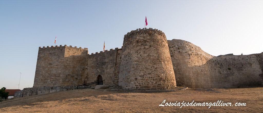 Panorámica del castillo de Ledesma - Los viajes de Margalliver