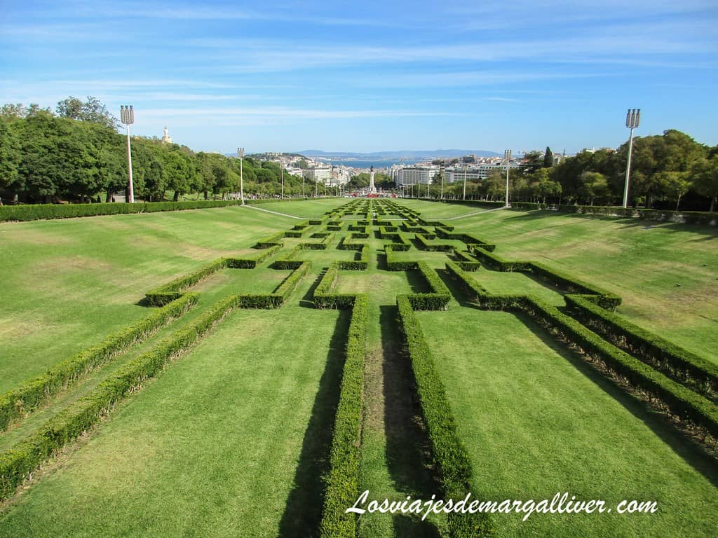 Parque Eduardo VII en Lisboa - Los viajes de Margalliver