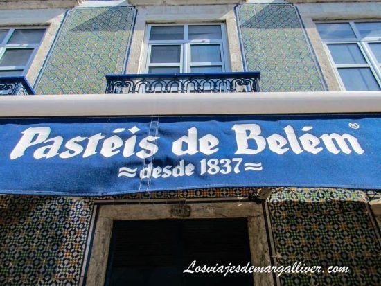 Pasteis de Belém - Lisboa - Los viajes de Margalliver
