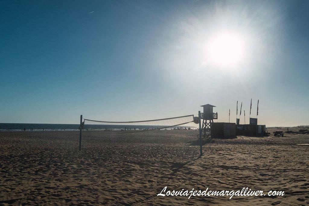 Playa de Punta Umbría , ruta por la provincia de Huelva - Los viajes de Margalliver