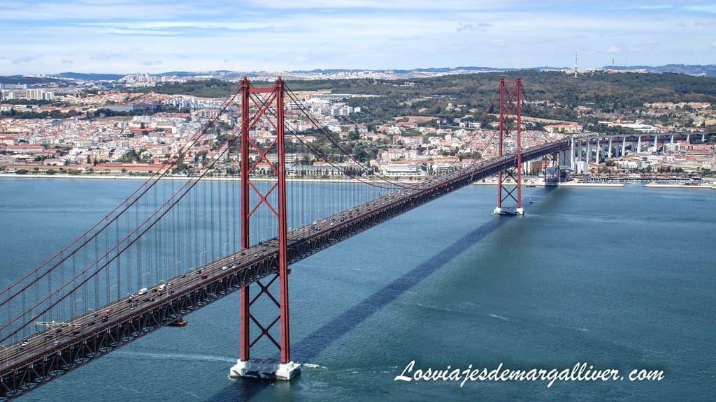 Puente 25 de abril en Lisboa - Los viajes de Margalliver