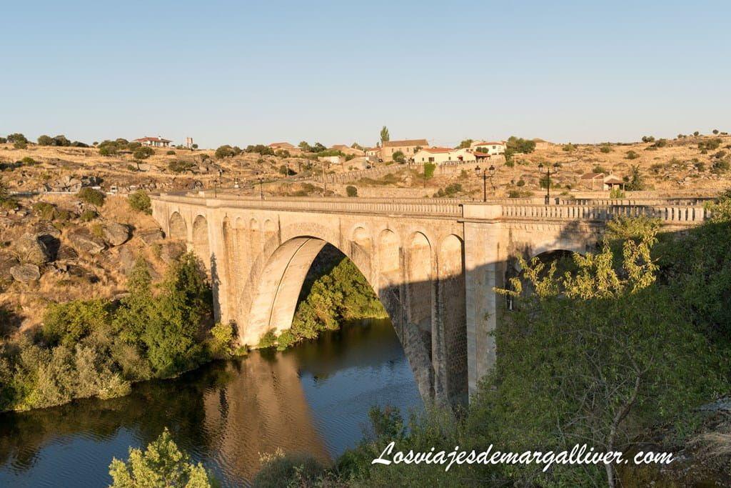 Puente nuevo de Ledesma - Los viajes de Margalliver