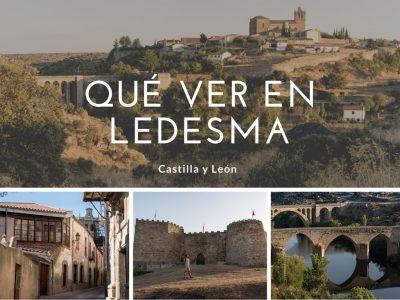Qué ver en Ledesma, antigua ciudad romana de Bletisa