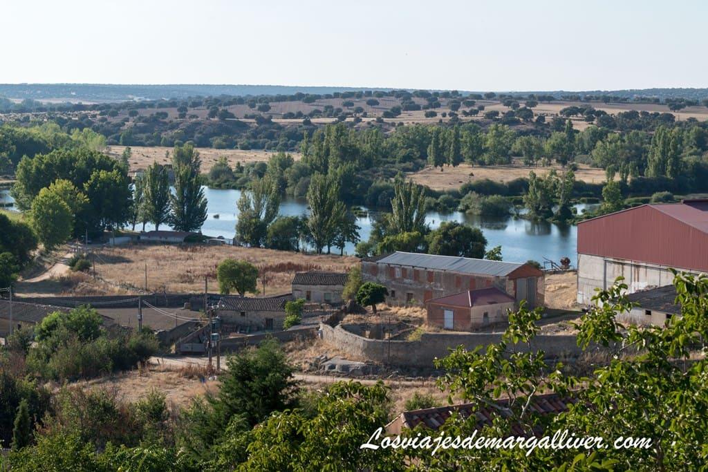 Vistas del río Tormes desde el mirador de la puerta de San Nicolás - Los viajes de Margalliver