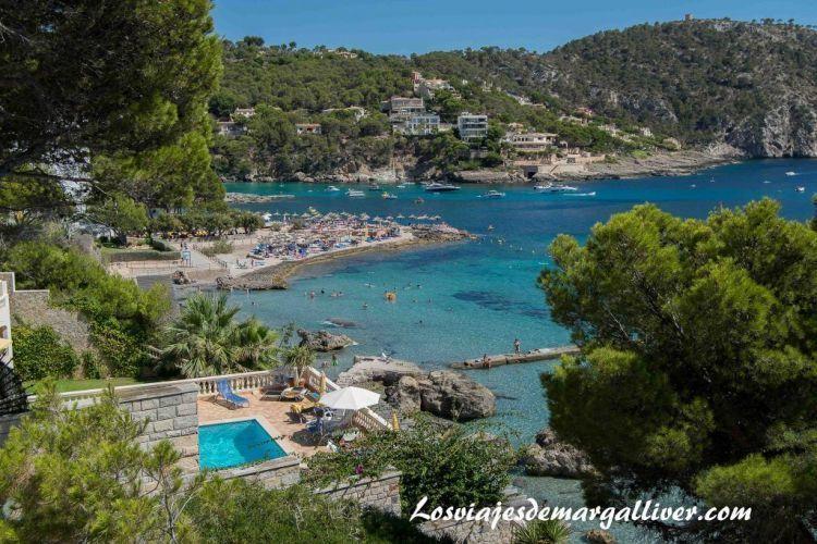 Ruta en coche por Mallorca, Camp de mar - Los viajes de Margalliver