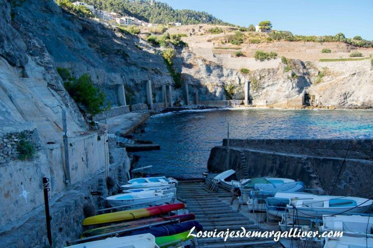 Ruta en coche por Mallorca, cala banyalbufar - Los viajes de Margalliver