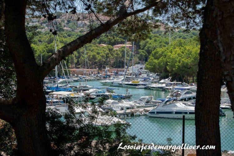 Ruta en coche por Mallorca, puerto de Santa Ponsa - Los viajes de Margalliver