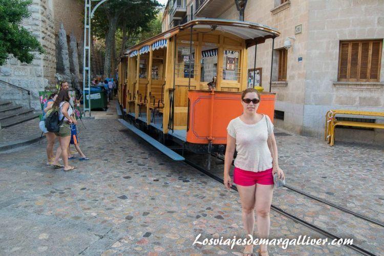 Ruta en coche por Mallorca tranvía de Soller - Los viajes de Margalliver