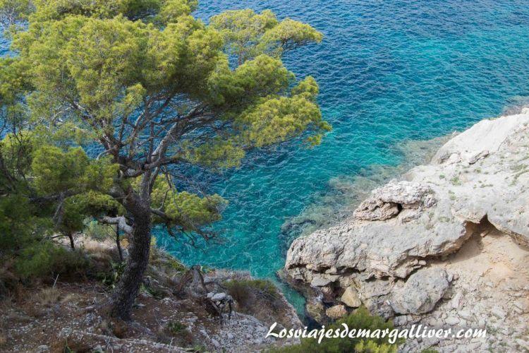 Ruta en coche por Mallorca, vistas desde la entrada de la cueva de Artá - Los viajes de Margalliver