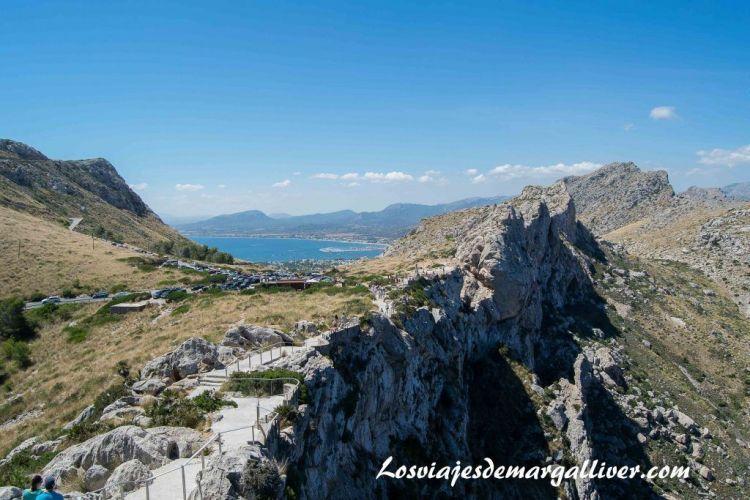 Ruta en coche por Mallorca, vistas desde el mirador Es Colomer - Los viajes de Margalliver