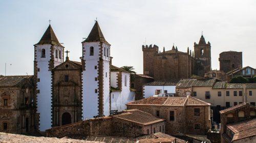 Vista desde la Concatedral de Cáceres